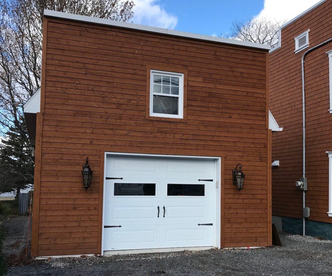Garage Expert - Construction de garages au Québec, exemple de réalisation