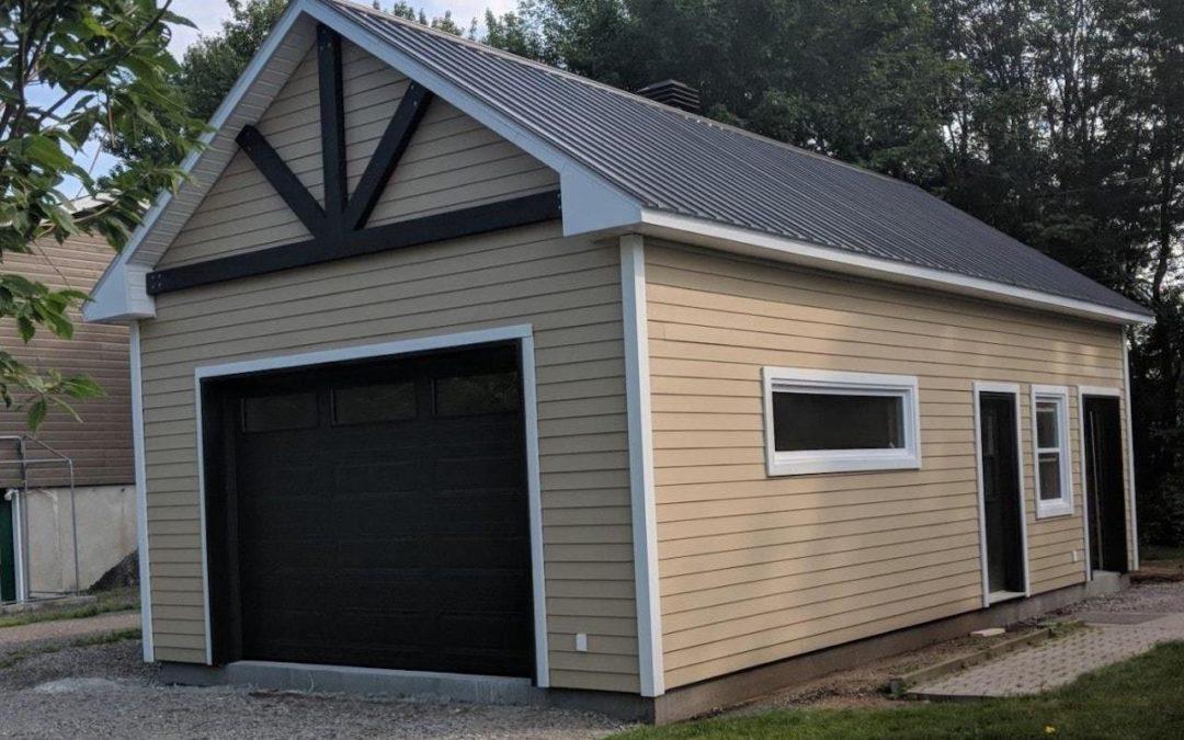 Garage préfabriqué 19′ X 34′