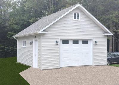 Garage préfabriqué 20′ x 22′