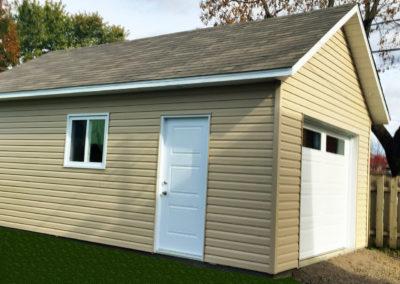 Garage préfabriqué 14′ X 24′