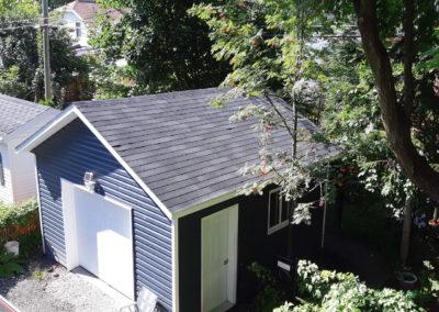Garage préfabriqué 16′ X 16′