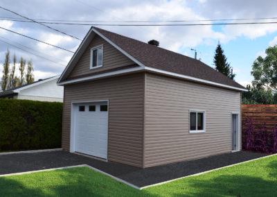 Garage préfabriqué 20′ X 26′