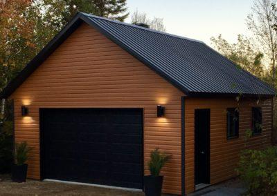 Garage préfabriqué 20′ X 24′