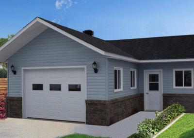 Garage préfabriqué 26′ X 24′