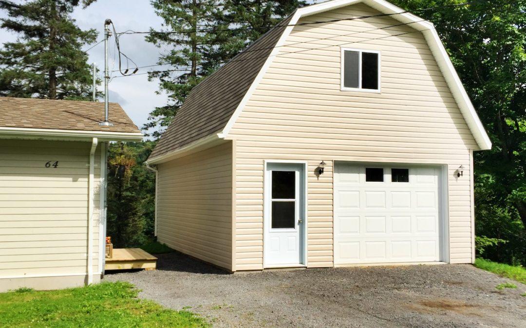 Garage préfabriqué 18′ X 28′