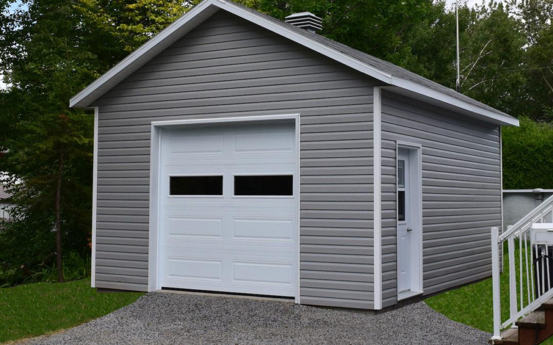 Garage préfabriqué 16′ x 20′