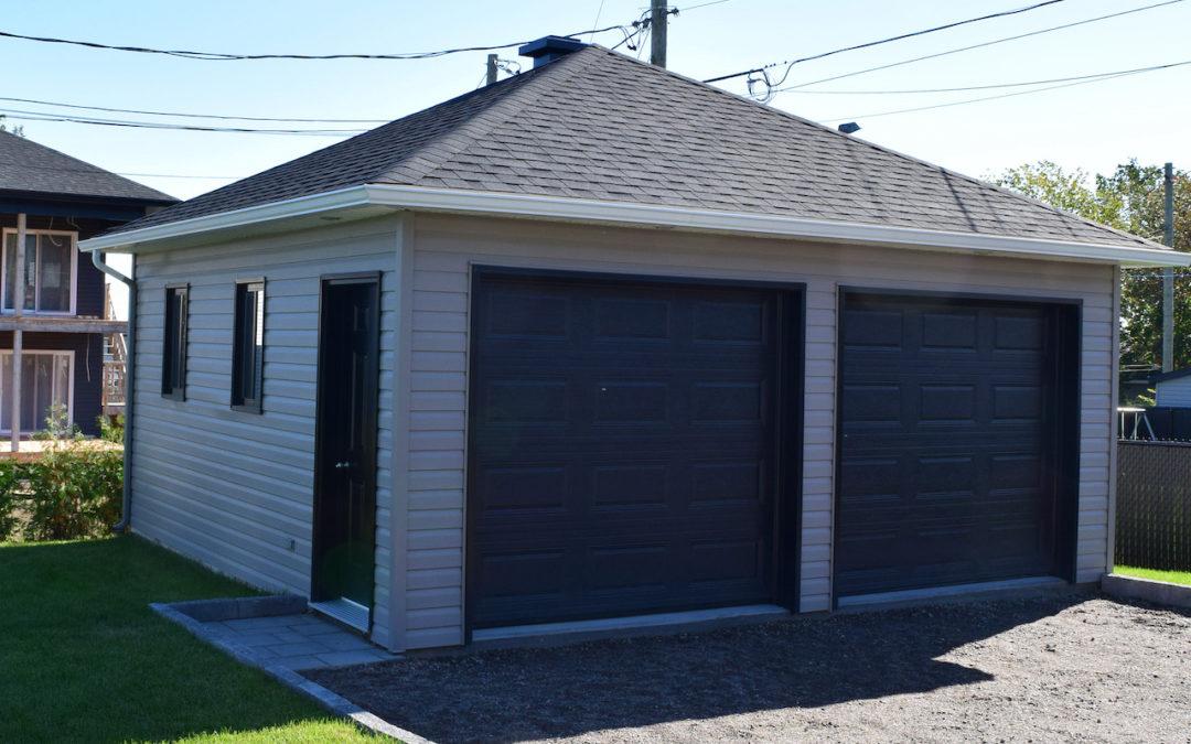 Garage préfabriqué 20′ X 20′