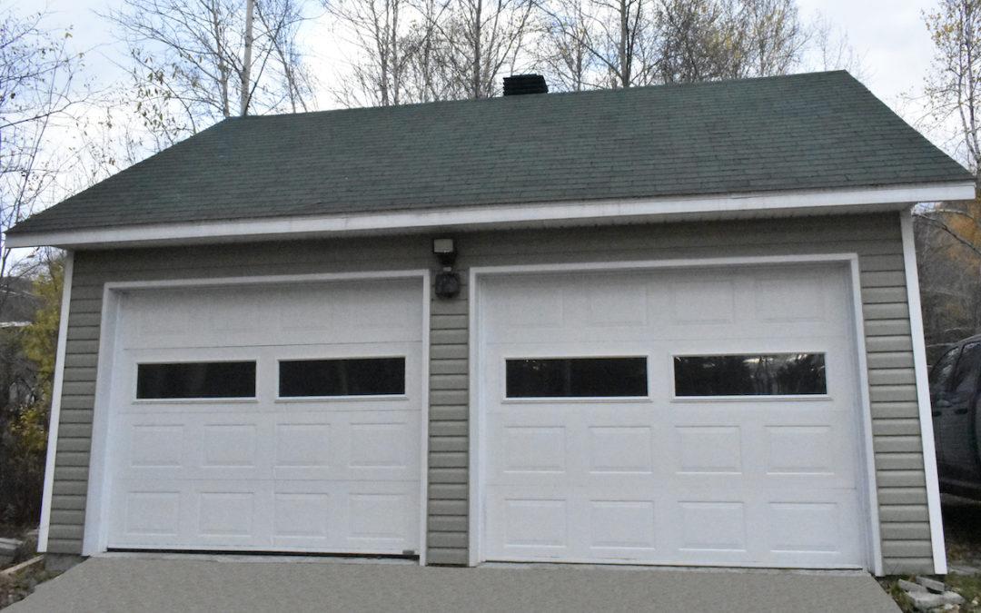 Garage préfabriqué 22′ X 20′
