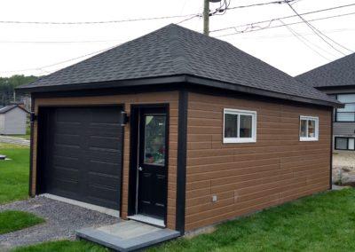 Garage préfabriqué 16′ x 24′