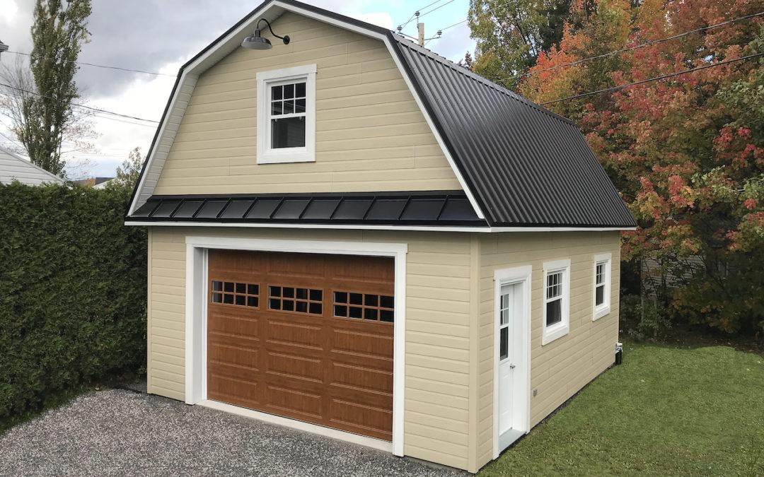 Garage préfabriqué 19′ x 24′