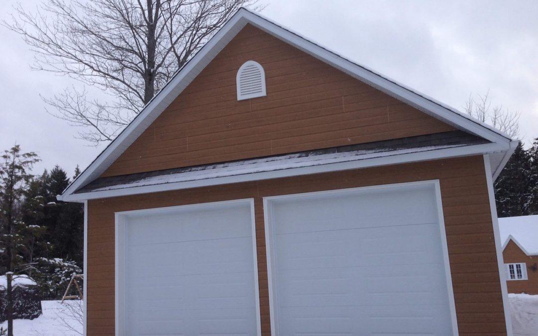 Garage préfabriqué 24′ X 30′