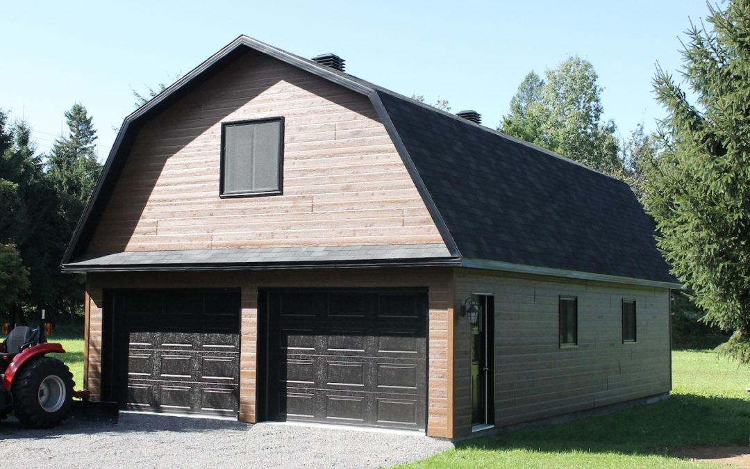 Garage préfabriqué 24′ x 40′