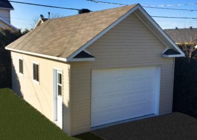 Garage préfabriqué 16′ X 26′