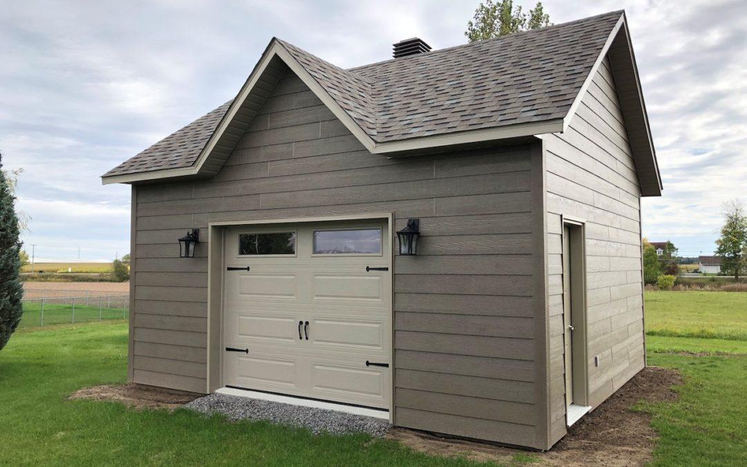 Garage préfabriqué 20′ X 18′