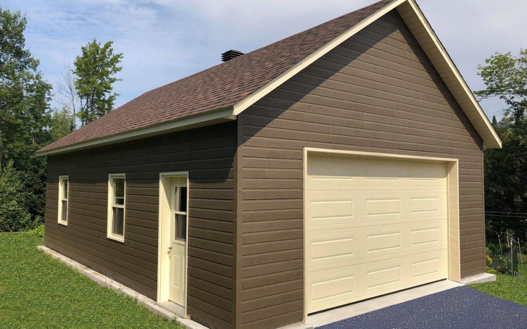 Garage préfabriqué 22′ x 34′